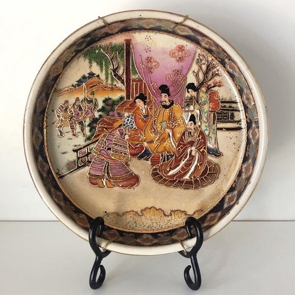 Vintage   Japanese Ceramic Dish